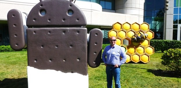 James Eling at Google Headquarters
